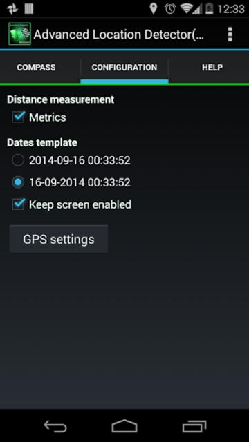 AdvancedLocationDetector (GPS) screenshot 5
