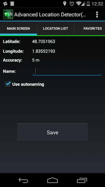 AdvancedLocationDetector (GPS) screenshot 7