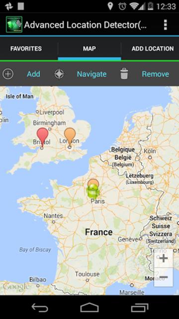 AdvancedLocationDetector (GPS) screenshot 16