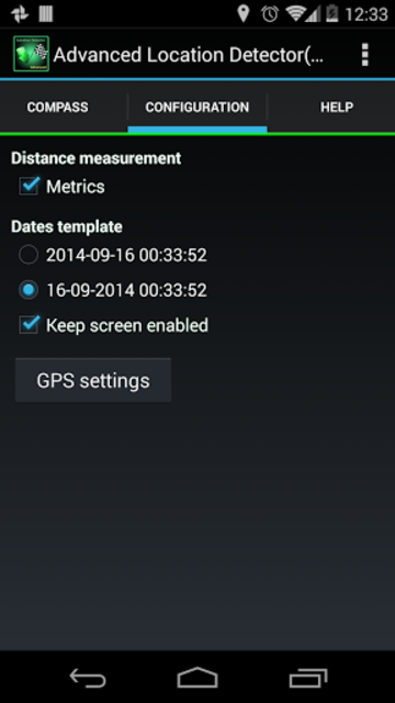 AdvancedLocationDetector (GPS) screenshot 17
