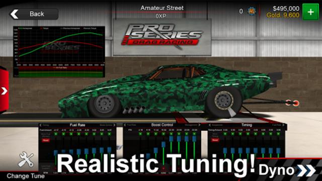 Pro Series Drag Racing screenshot 4