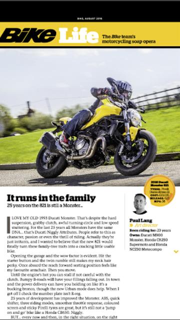 Bike Magazine: Motorbike news, tips, events & more screenshot 16