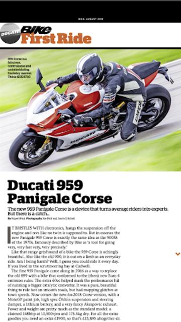 Bike Magazine: Motorbike news, tips, events & more screenshot 19