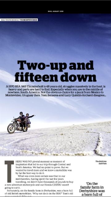 Bike Magazine: Motorbike news, tips, events & more screenshot 20
