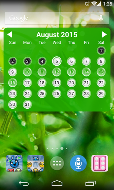 Lady Pill Widgets screenshot 3