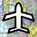 Icon for AviNavi, navigation for pilots