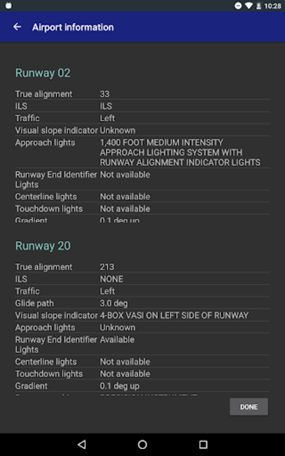 AviNavi, navigation for pilots screenshot 23
