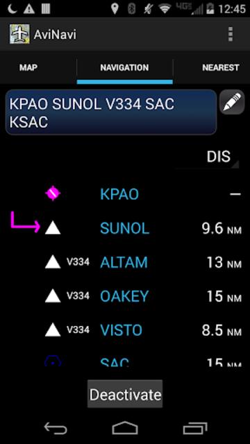 AviNavi, navigation for pilots screenshot 4