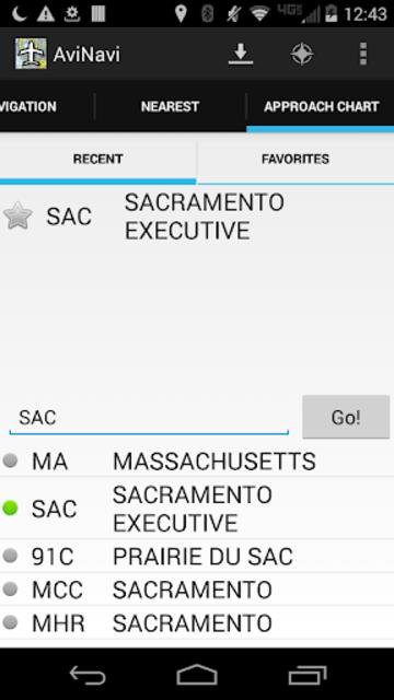 AviNavi, navigation for pilots screenshot 5
