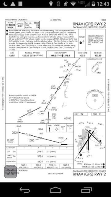 AviNavi, navigation for pilots screenshot 6
