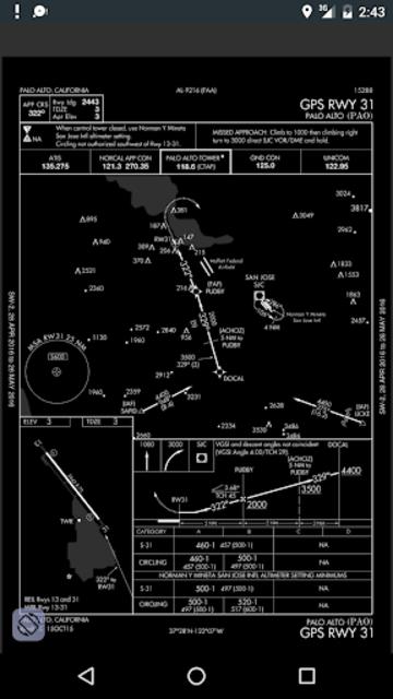 AviNavi, navigation for pilots screenshot 7