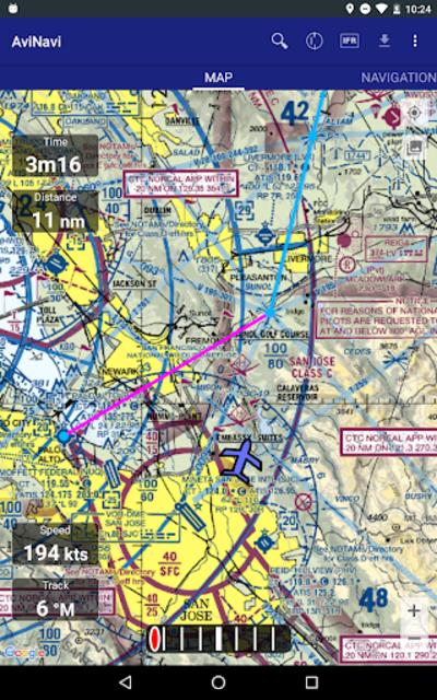 AviNavi, navigation for pilots screenshot 17