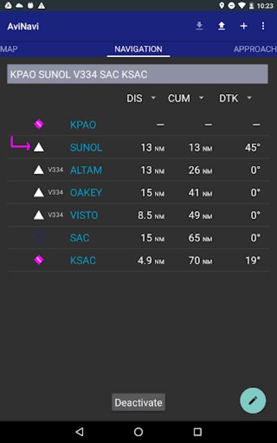 AviNavi, navigation for pilots screenshot 19