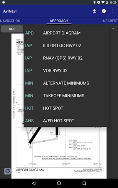 AviNavi, navigation for pilots screenshot 20