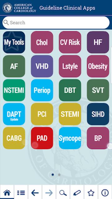 ACC Guideline Clinical App screenshot 1