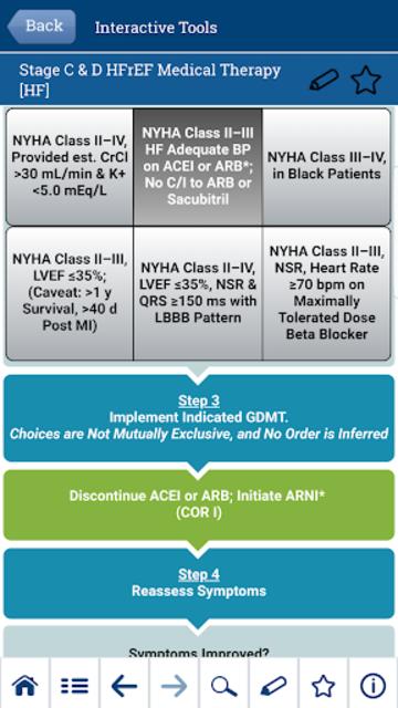 ACC Guideline Clinical App screenshot 2