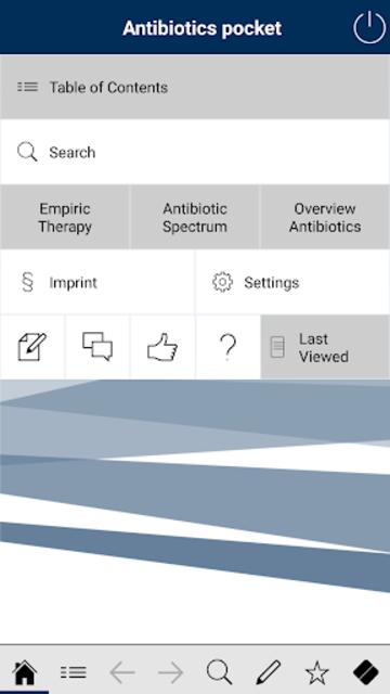 Antibiotics pocket screenshot 1