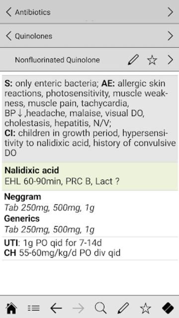 Antibiotics pocket screenshot 4