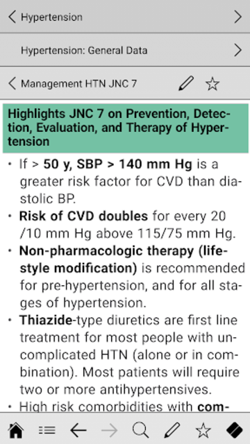 Cardiology pocket screenshot 4