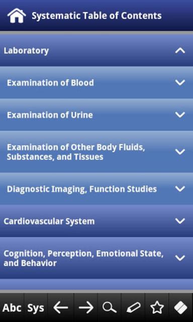Differential Diagnosis pocket screenshot 5