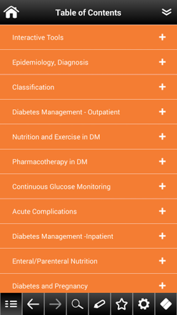 Diabetes Mellitus pocket screenshot 2