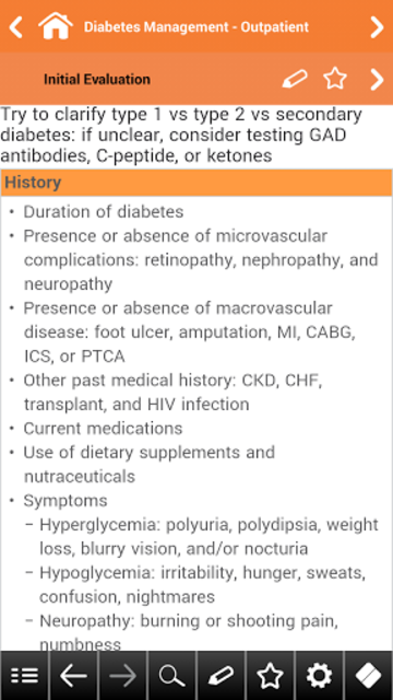 Diabetes Mellitus pocket screenshot 4