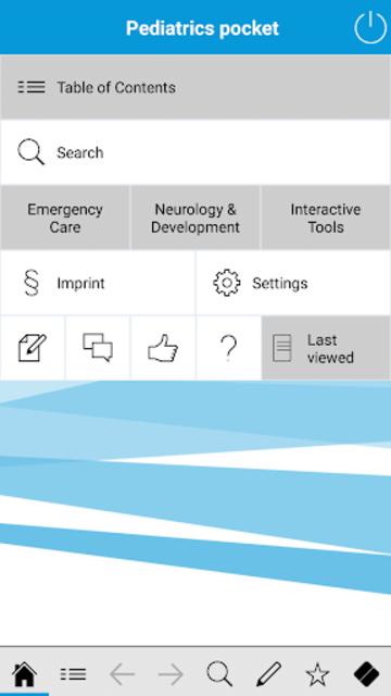 Pediatrics pocket screenshot 1
