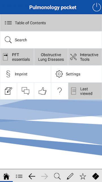 Pulmonology pocket screenshot 1