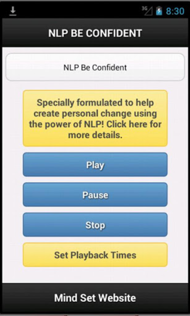 Sleep Learning NLP Be More Confident screenshot 1