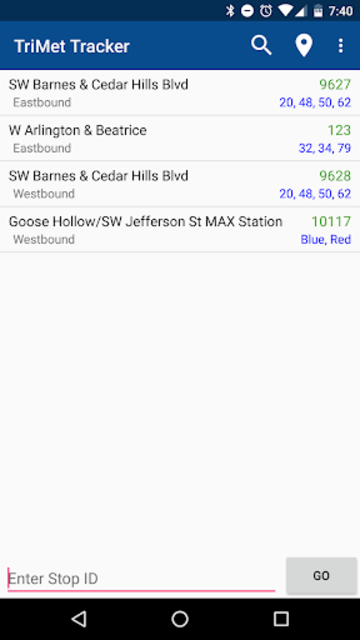 TriMet Tracker Free screenshot 1