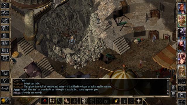 Baldur's Gate II screenshot 1