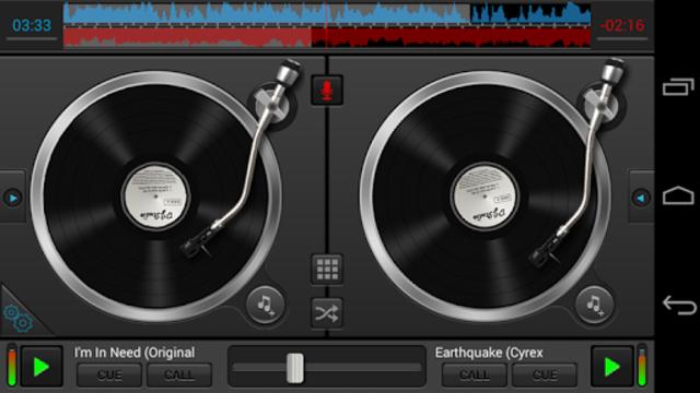 DJ Studio 5 - Free music mixer screenshot 1