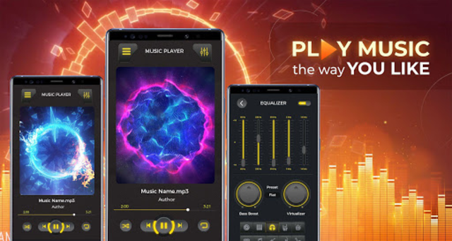 MP3 Player– Free Music Player - Music Plus screenshot 1