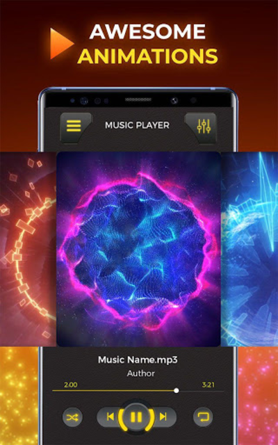 MP3 Player– Free Music Player - Music Plus screenshot 2