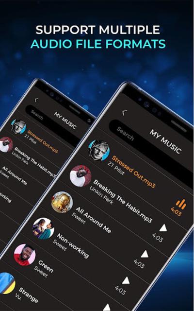Music Player - Audio Player Pro screenshot 4
