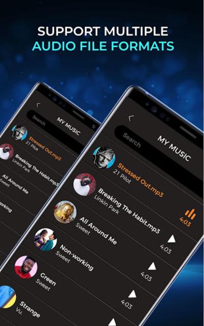 Music Player - Audio Player Pro screenshot 10