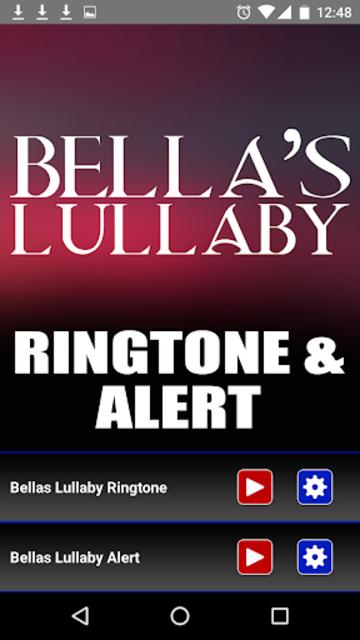 Bellas Lullaby Ringtone screenshot 2