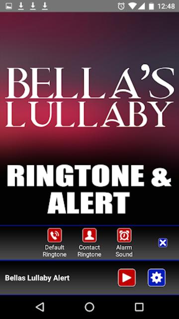 Bellas Lullaby Ringtone screenshot 3