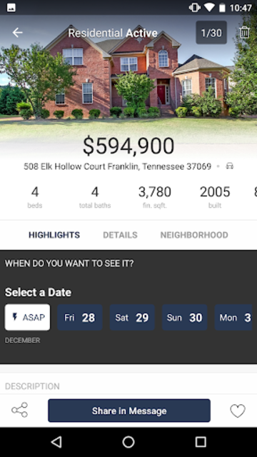 Benchmark Realty:  Homes For Sale screenshot 2
