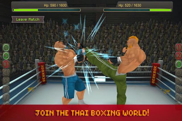 Thai Boxing League screenshot 3