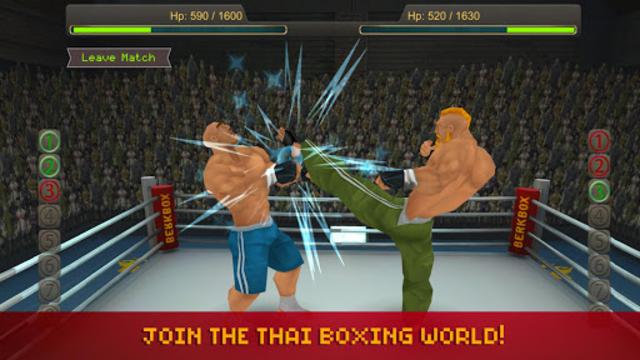 Thai Boxing League screenshot 6