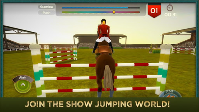 Jumping Horses Champions 2Free screenshot 2