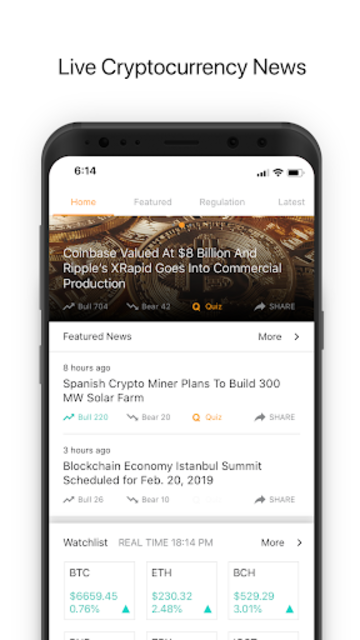 Berminal: Blockchain & Crypto News Platform screenshot 1
