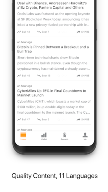 Berminal: Blockchain & Crypto News Platform screenshot 2