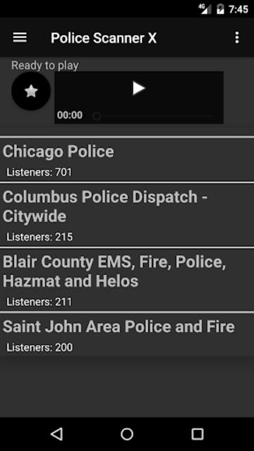 Police Scanner X screenshot 3