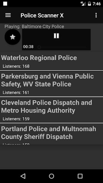 Police Scanner X screenshot 4