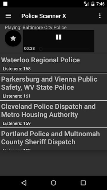 Police Scanner X screenshot 11