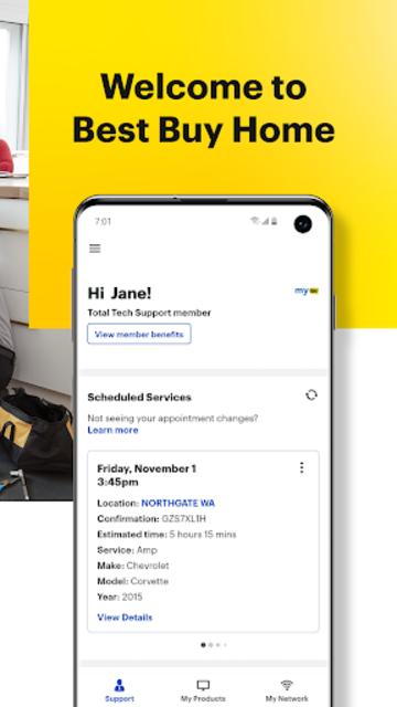 Best Buy Home: Tech Support, Information & Repairs screenshot 2