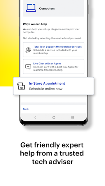 Best Buy Home: Tech Support, Information & Repairs screenshot 3
