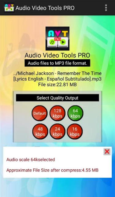 Audio Video Tools Pro screenshot 2